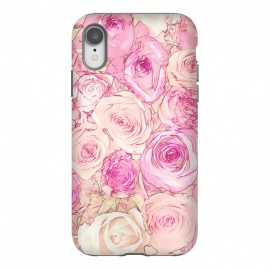 iPhone Xr  Pastel Rose Pattern by