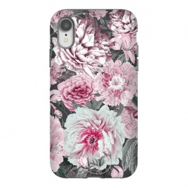 iPhone Xr  Romantic Vintage Flower Pattern by Andrea Haase