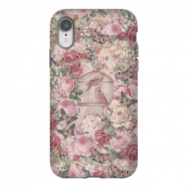 iPhone Xr  Nostalgic Flowers With Birdcage by Andrea Haase