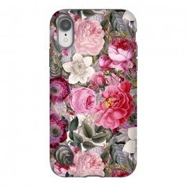iPhone Xr  Luxuriantly Vintage Flower Pattern by Utart