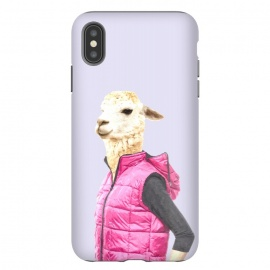 Fashionable Llama Illustration by Alemi