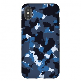 iPhone Xs Max  Blue Camo by TMSarts