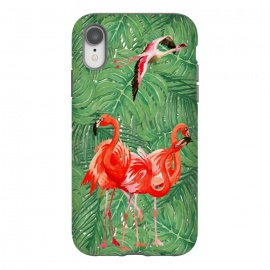 iPhone Xr  Flamingo Jungle  by Utart