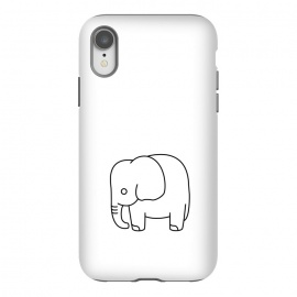 iPhone Xr  little baby elephant by TMSarts