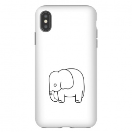 iPhone Xs Max  little baby elephant by TMSarts