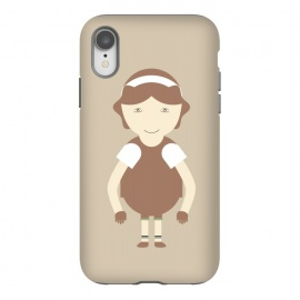 iPhone Xr  little brown girl by TMSarts