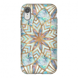 iPhone Xr  Mother of Pearl Mandala by