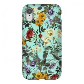 iPhone Xr  Summer Botanical forest by  (botanical,rose,garden,tropical,leaf,flowers,floral,flora,summer,vintage,retro,spring,ss18)