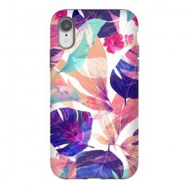 iPhone Xr  Watercolor summer flowers by Bledi