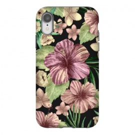 iPhone Xr  Watercolor summer flowers 15 by