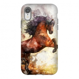 iPhone Xr  Excited Horse by Creativeaxle