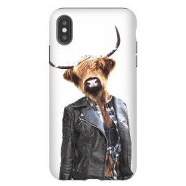 iPhone Xs Max  Cow Girl by Alemi
