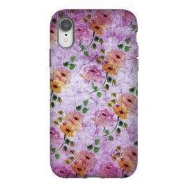 iPhone Xr  Purple Vintage by