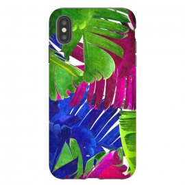 Colorful Tropica Leaves by Alemi
