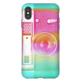 iPhone Xs Max  Colorful pastel vintage camera by Oana