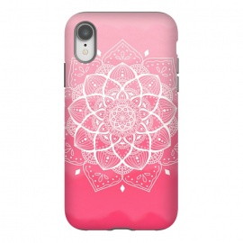 iPhone Xr  Pink mandala by Jms