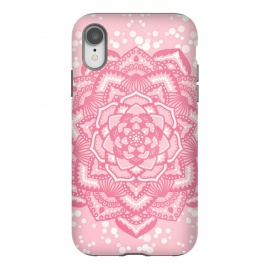 iPhone Xr  Pink flower mandala by Jms
