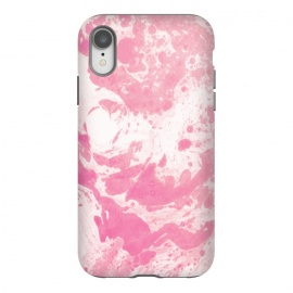 iPhone Xr  Pink paint by