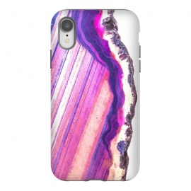 iPhone Xr  Violet Agate Illustration by Alemi