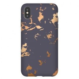 iPhone Xs Max  Golden Splatter 001 by Jelena Obradovic