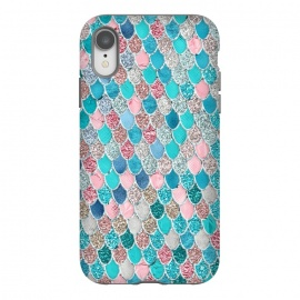 iPhone Xr  Summer Pastel Glitter Mermaid Scales by Utart