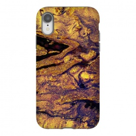 iPhone Xr  2018/3 by  (paint,painting,swirls,swirly,gold,glitter,marble)