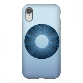 iPhone Xr  Blue Iris Object by