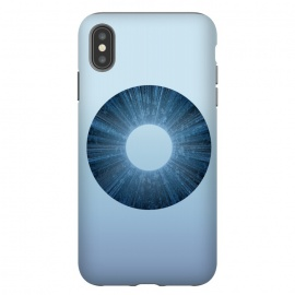 iPhone Xs Max  Blue Iris Object by Andrea Haase