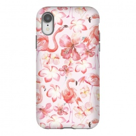 iPhone Xr  Pink Flamingo Aloha Dance by
