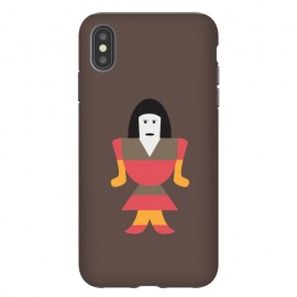 iPhone Xs Max  funny woman art by TMSarts