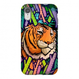 iPhone Xr  Tiger in the undergrowth  by Steve Wade (Swade)
