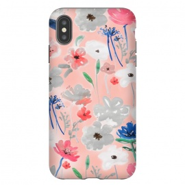 iPhone Xs Max  Blush florals by MUKTA LATA BARUA