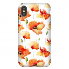 iPhone Xs Max  Poppies Forever by Utart