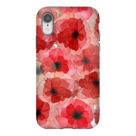 iPhone Xr  Abstract Poppy Pattern by Utart