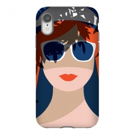 iPhone Xr  Girl with Sunglasses by
