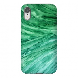 iPhone Xr  Emerald Green Marble by