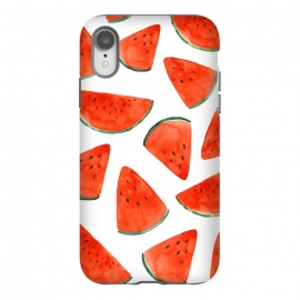 Fruity Summer Watermelon Print by Becky Starsmore