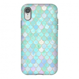 iPhone Xr  Pastel Trendy Chic Mermaid Scales by Utart