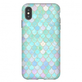 Pastel Trendy Chic Mermaid Scales by Utart