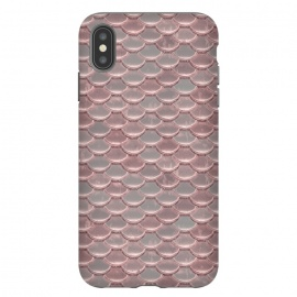 iPhone Xs Max  Pink Snake Skin by Andrea Haase