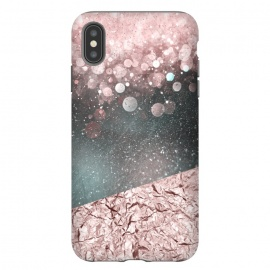 iPhone Xs Max  Rosegold Sparkle by Andrea Haase