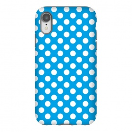 iPhone Xr  Polka Dots Blue by