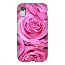 iPhone Xr  Pink Roses  by Alemi