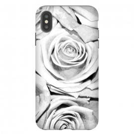 Black and White Roses by Alemi