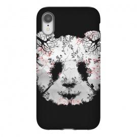 iPhone Xr  Dark Forest Panda by  (Dark, Animals, Animal, Birds, Horror, Nature, Mixed art, Illusion, Wild, Bear, Panda, White, black-&-white, black-white, Sacura, Trees, Digital, Environment, Cute)