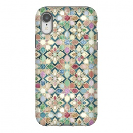 iPhone Xr  Muted Moroccan Mosaic Tiles by
