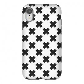 iPhone Xr  Scandinavian Crosses Black by