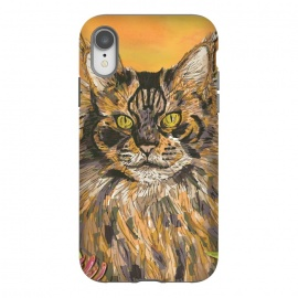 iPhone Xr  Maine Coon Cat by Lotti Brown