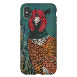 iPhone Xs Max  Funny Pheasant by Lotti Brown