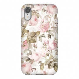 iPhone Xr  Pastel Vintage Roses by Utart